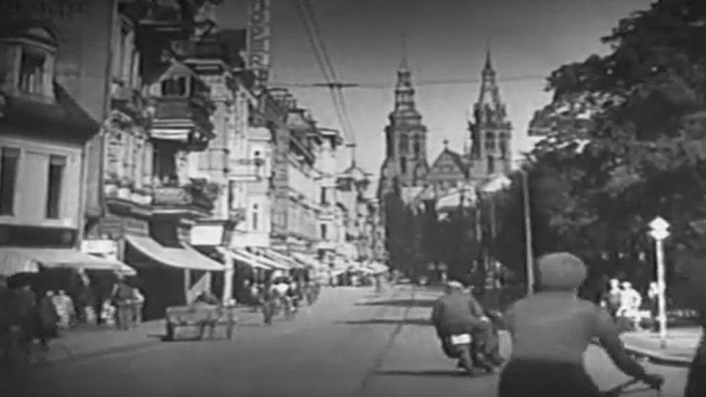 Liegnitz vor dem Krieg – Das Niederschlesien vor dem 2. Weltkrieg in einem alten Film