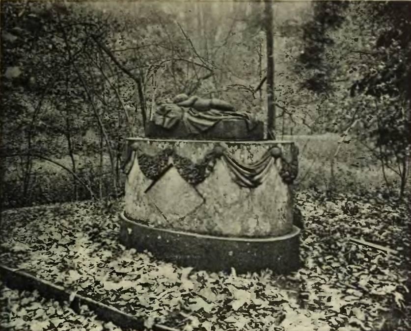 Eine seltenes erhalten gebliebenes Foto der Grabstätte – Quelle: Fundacja Księżnej Daisy von Pless