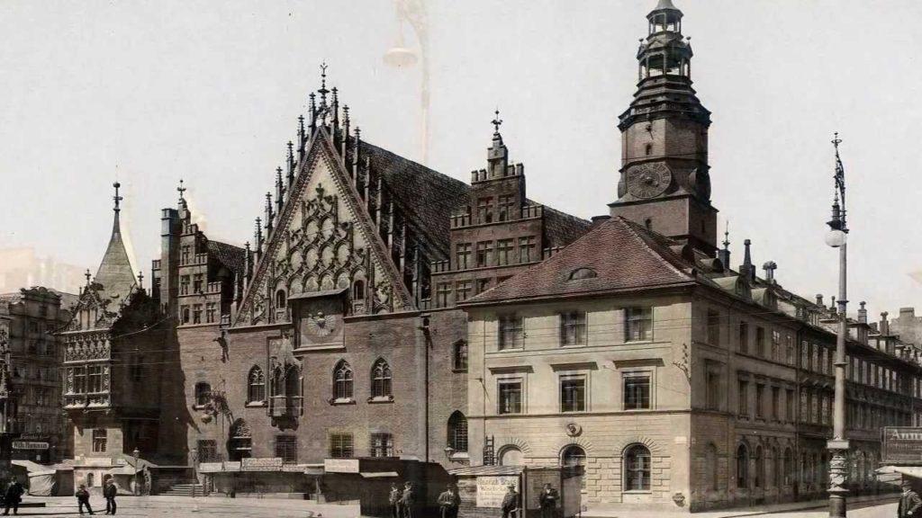 Wrocław-Breslau vor dem Krieg und heute