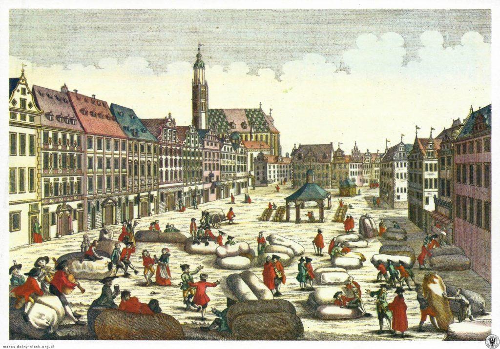 Marktplatz mit der Großen Stadtwaage – Quelle: dolny-slask.org.pl