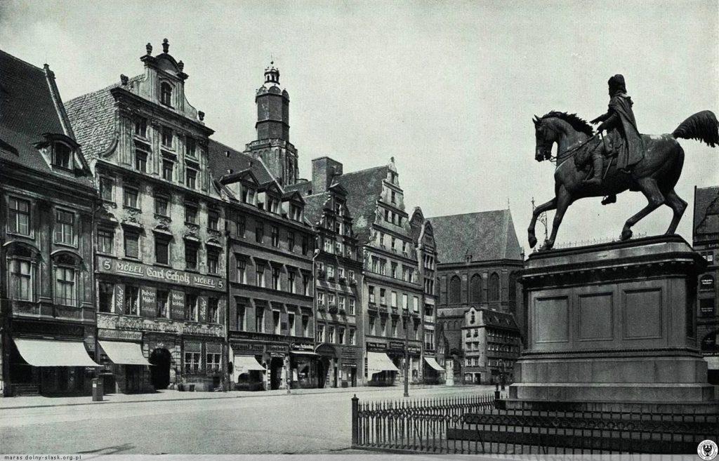 Denkmal Friedrich des Großen – Quelle: dolny-slask.org.pl