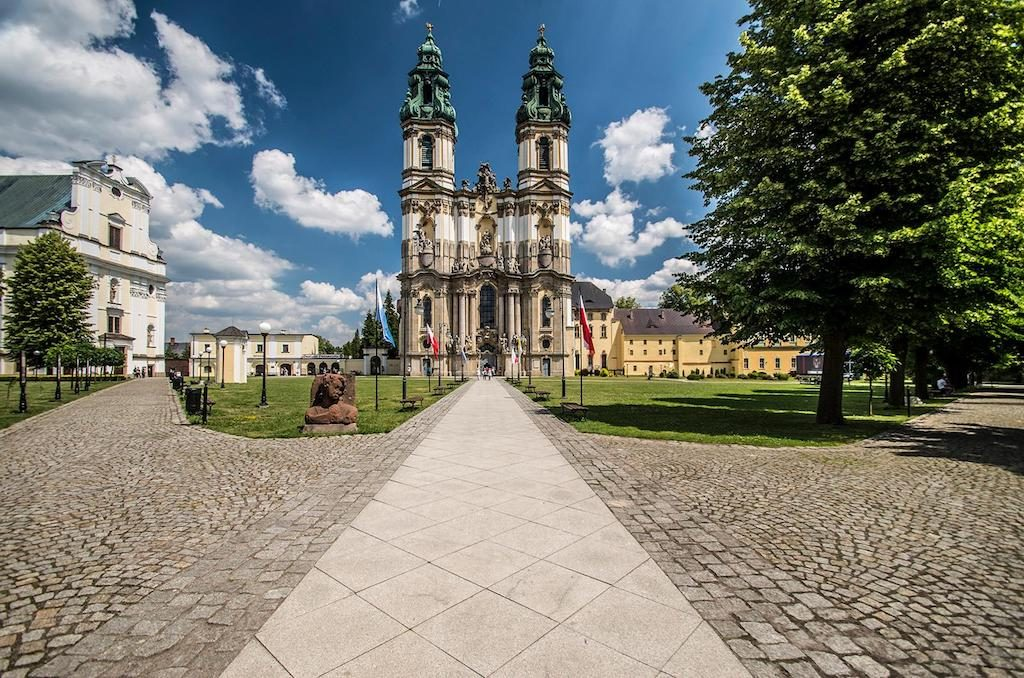Basilika der Himmelfahrt - Hauptkirche der Zisterzienser – Foto: Adrian Sitko