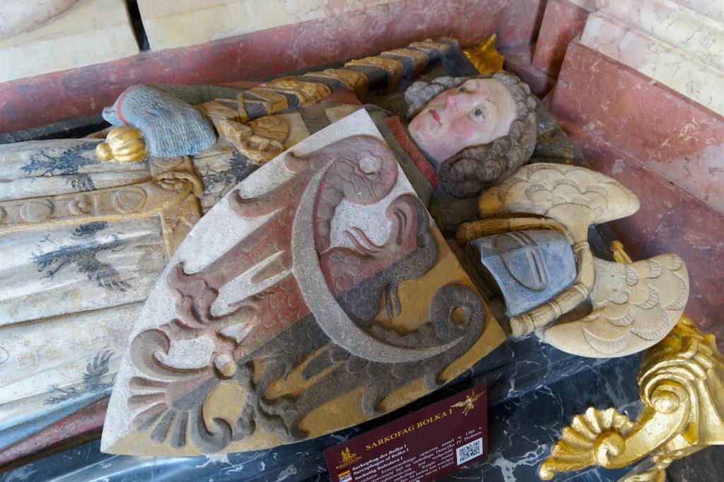 Sarkophag von Herzog Bolko dem I. von Schweidnitz