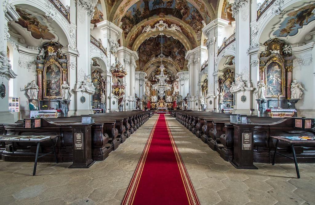 Innenraum der Basilika – Foto: Adrian Sitko