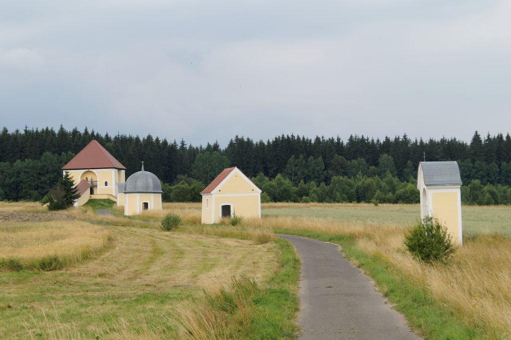 Kalvarienberg in Grüssau (Krzeszów)
