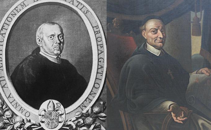 Bernard Rosa (links) und Innozenz Fritsch (rechts)
