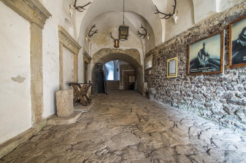 Laufgang in der oberen Burg