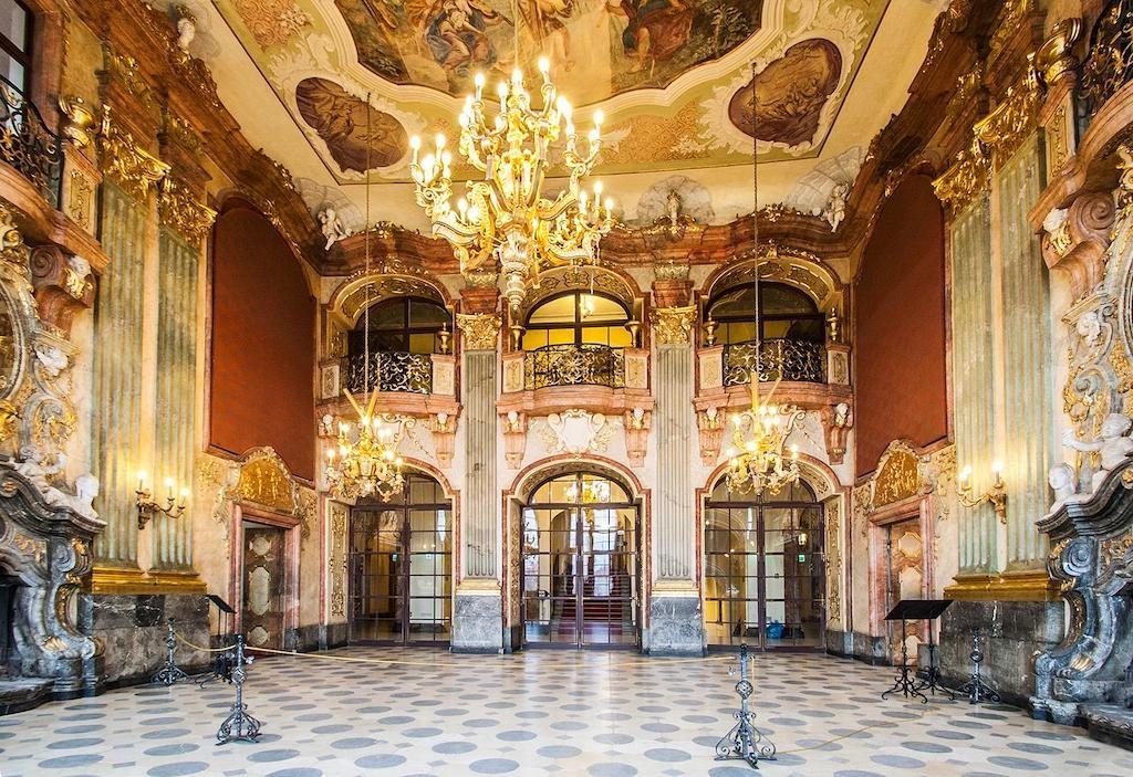 Maximiliansaal im Schloss Fürstenstein – Foto: Adrian Sitko