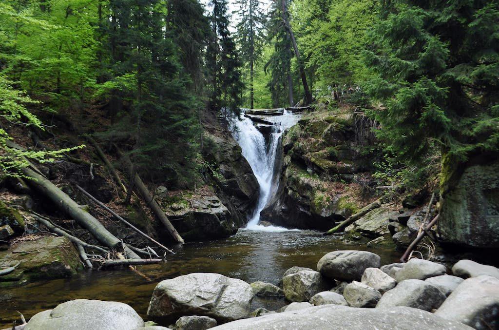Kochelfall (Wodospad Szklarki) im Riesengebirge – Foto: Robert Bezak