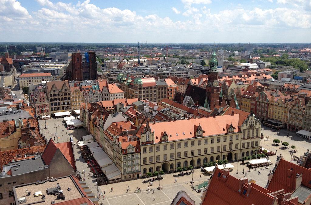 Marktplatz (Großer Ring) in Breslau (Wrocław) – Top 10 Sehenswürdigkeiten in Niederschlesien in Polen