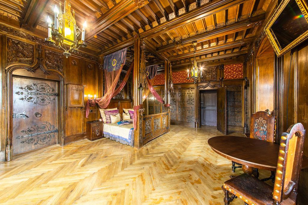 Fürstensaal in der Burg Tzschocha – Quelle: Burg Tzschocha