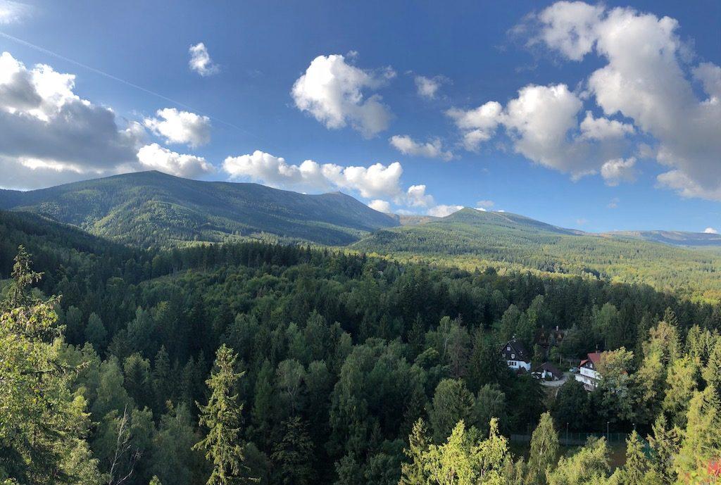 Im Riesengebirge ist seit 1959 der Karkonoski-Nationalpark in Betrieb