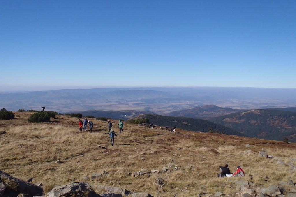 Gipfel des Glatzer Schneeberges (Masyw Śnieżnika)