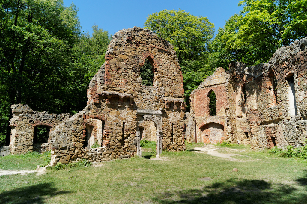 Hof des Alten Burg – Hier befand sich früher ein Restaurant