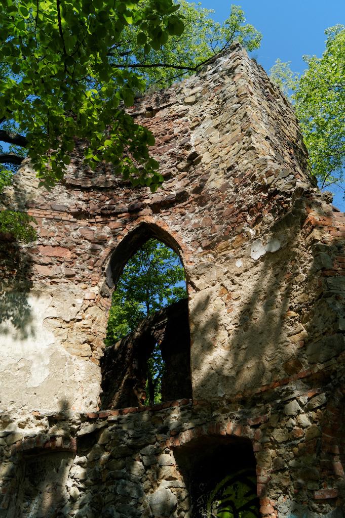 Überreste des Burgturmes